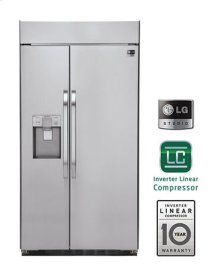 LG Studio - Ultra-Large Capacity Side-By-Side Refrigerator with Ice & Water Dispenser