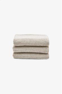 Tasha Hand Towel Cream with Linen Stripes STYLE: THHT01