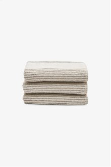 Tasha Hand Towel Cream with Linen Stripes STYLE: THHT01
