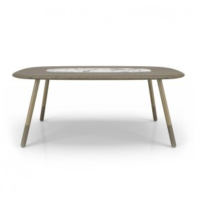 78'' Table with natural stone