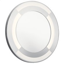 Round Lighted Mirror