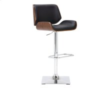Kinley Adjustable Barstool - Onyx