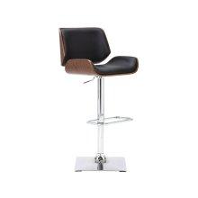 Kinley Adjustable Barstool - Onyx