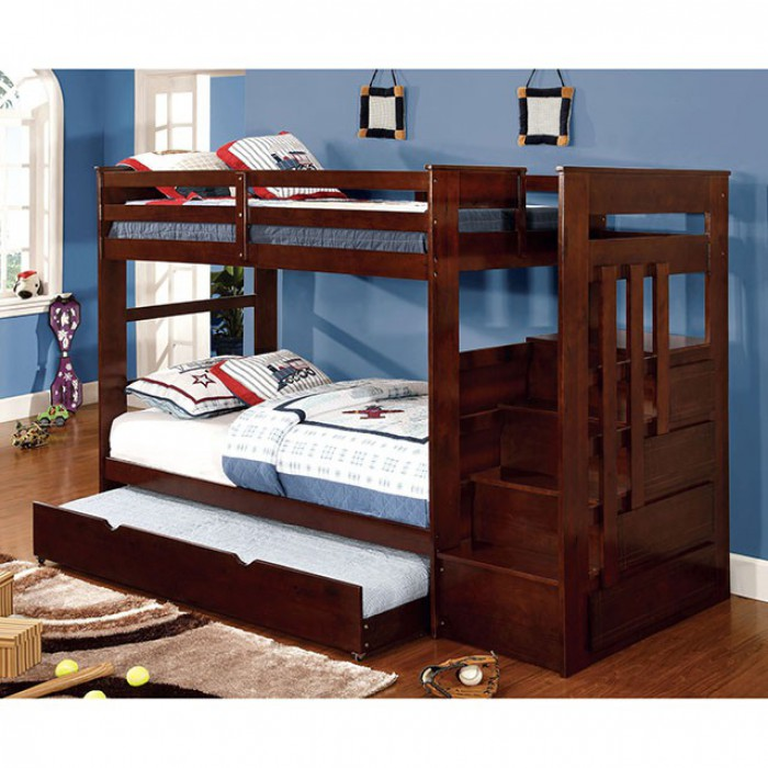 CMBK612 In By Furniture Of America In Simi Valley, CA   Woodridge Twin/twin  Bunk Bed