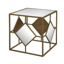 Midas Mirror and Gold Cube