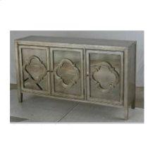3-door Cabinet With Antique Mirror
