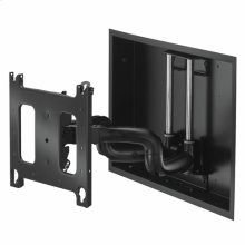 Large Low-Profile In-Wall Swing Arm Mount - 22""
