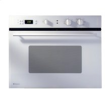 "GE Monogram® 30"" European-Design White Single Convection Wall Oven"
