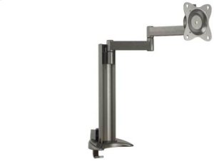 "Graphite Full-Motion Desk Mount for flat-panel monitors up to 30"" - extends 18.50"" / 46.99 cm"