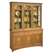 Oak Harvey Ellis Three-door Buffet