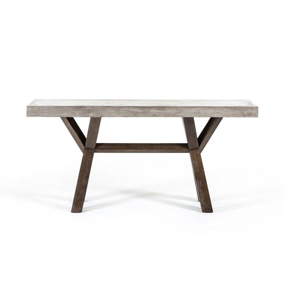 Modrest Urban Concrete Console Table