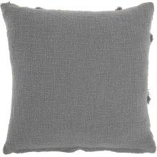 "Life Styles Sh018 Grey 18"" X 18"" Throw Pillows"
