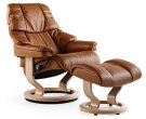Stressless Tampa Small Recliner and Ottoman Product Image