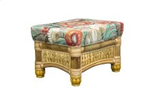 Ottoman, Available in Natural Finish Only.