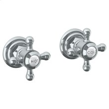 Wall Mounted 2-valve Shower Trim