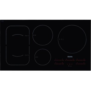 MieleKM 6375 Induction Cooktop with PowerFlex cooking area for maximum versatility and performance.