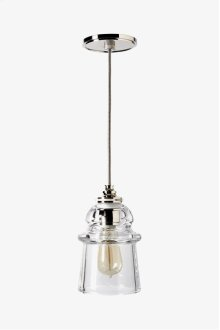 Watt Ceiling Mounted Pendant with Plain Glass Shade STYLE: WLLT03