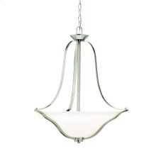 Langford Collection Langford 3 Light Inverted Pendant NI