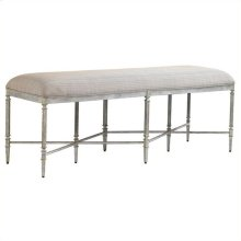Preserve - Gardiner Bench In Salted Silver Leaf