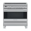 """Fisher & Paykel Induction Range, 36"""", 5 Zones With Smartzone, Self-Cleaning"""