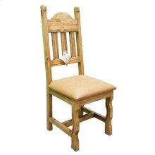 Vinyl Padded Plain Chair