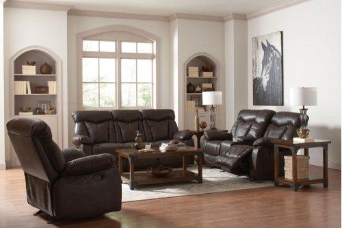 3pc (sofa + Love+ Recliner)