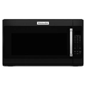 "KITCHENAID1000-Watt Microwave with 7 Sensor Functions - 30"" - Black"
