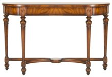 Farleigh Mahogany Console Table - Light Walnut