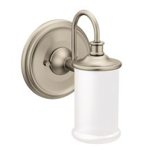 Belfield brushed nickel bath light