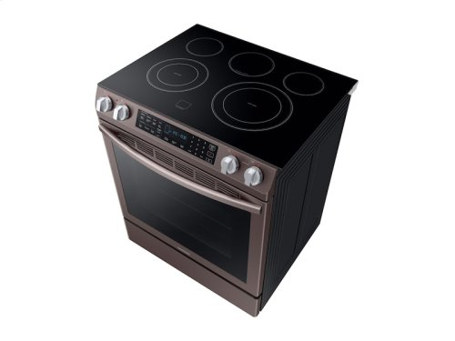 5.8 cu. ft. Slide-In Electric Range in Tuscan Stainless Steel