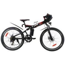 Folding Pedal Assist Electric Mountain Bike