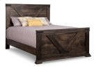Chattanooga Double Bed with 32'' High Footboard Product Image