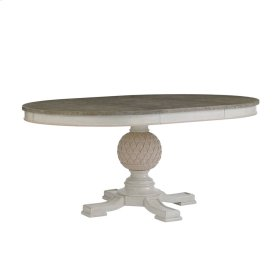 Preserve-Artichoke Pedestal Table in Orchid