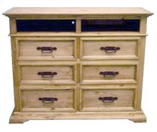 Mexia TV Chest 6 Drawers