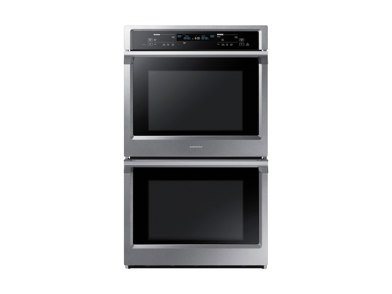 """Samsung30"""" Double Wall Oven In Stainless Steel"""