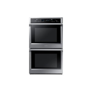 "SAMSUNG30"" Double Wall Oven in Stainless Steel"
