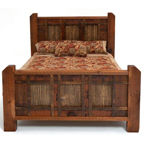Heritage Richland Bed - California King Bed (complete)