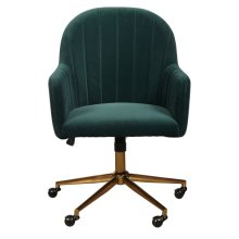 Emerald Channeled Back Office Chair
