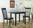 Chocolate Brown 3pc Dinette Product Image