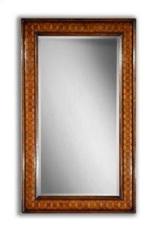 Circular Inlay Rectangular Mirror (Plain Glass)