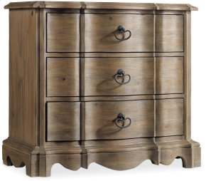 Corsica Three Drawer Nightstand