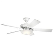 Bentzen Collection 52 Inch Bentzen Select LED Fan MWH