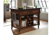 Kitchen Cart with Casters