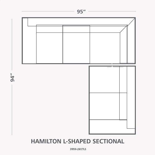 Hamilton L-Shaped Sectional