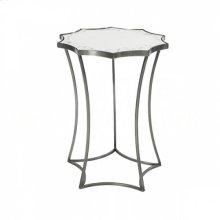 Astre Steel Mirror Side Table
