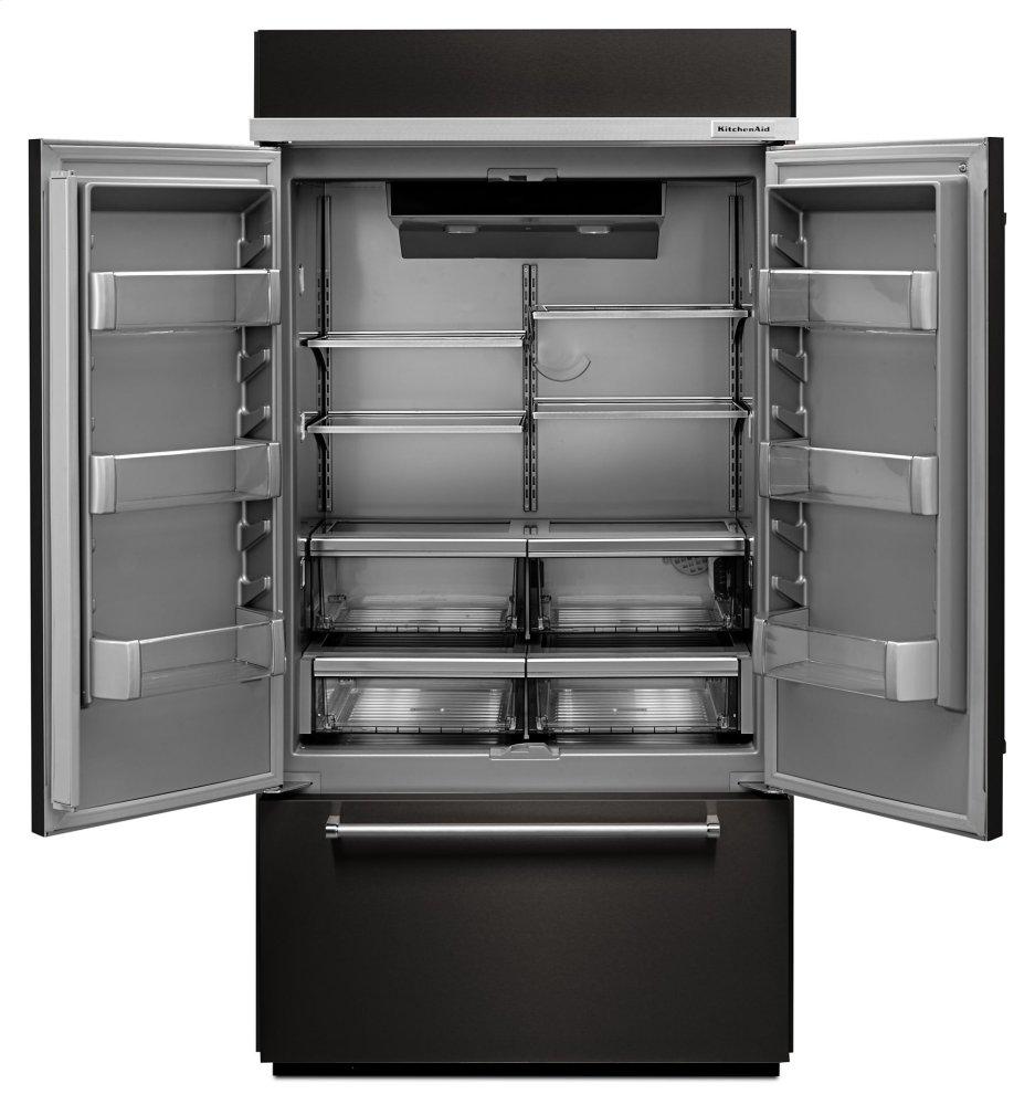 kbfn506ebs in black stainless by kitchenaid in danbury nc 20 8 cu rh bjstevensfurniture com