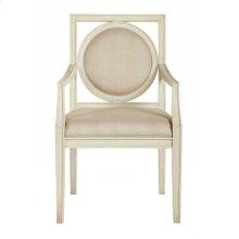 Salon Arm Chair in Alabaster (341)