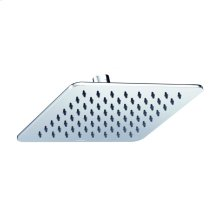"Chrome Drench 8"" Square Single Function Rain Showerhead, 1.75gpm"