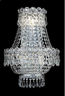 1900 Century Collection Wall Sconce with Neck Chrome Finish