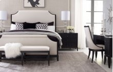 Symphony Upholstered Bed, Queen 5/0
